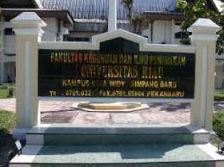 Terlalu?.. Fakultas FKIP Universitas Riau Tak Bayar Honor Dosen