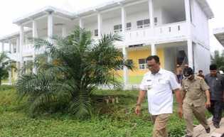 Pusat Pemerintahan Rohil Kini Sudah Bersolek di Batu Enam