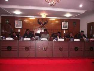Kesepakatan KUA-PPAS Tahun 2016 resmi di Parnipurnakan