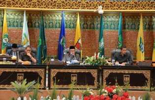 Rapat Paripurna DPRD Riau, Pengesahan Perda Ketenagalistrikan Berjalan Sukses