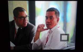 Bupati Rohul Suparman di Periksa KPK di Jakarta