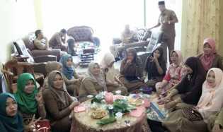 Mantan Dewan Ikut Halal-bihalal DPRD