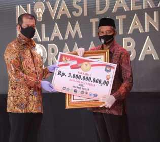 Pekanbaru Berhasil Juara I Inovasi Daerah Tatanan Normal Baru