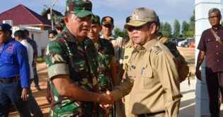 Pusung : Malu Kita Kalau Pasukan Dari Luar Riau Datang