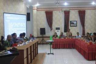 Bupati Rohil Dukung IPDN Riau Praktek di Setiap SKPD