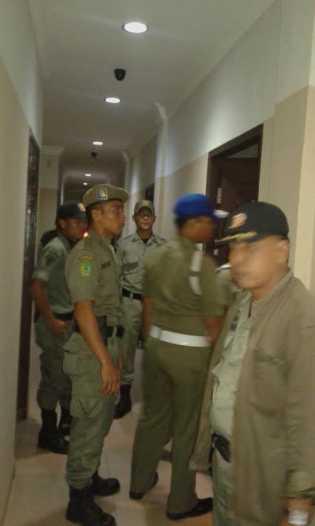 Identitas Pengunjung ke Rohil di data Sat Pol PP