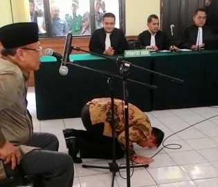 Terdakwa KPK di Vonis Bebas, Suparman : Allah Mengabulkan Doa Saya