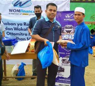 Sambut Ramadhan 2020, WOM Finance Rohil Gelar CSR ke Pondok Pesantren