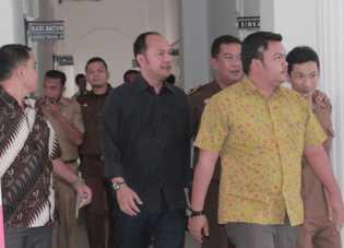 Akhirnya, 4 Pejabat Penting DKPP Rohil di Bui