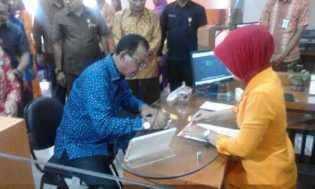Bupati Suyatno Resmikan Pembukaan Bank Kepri Pujud