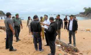 Pemkab Rohil Janji Akan Kembangkan Pulau Tilan