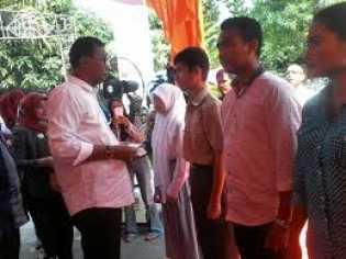Bupati Suyatno Resmikan Pemakaian Kas BNI Bagansiapiapi