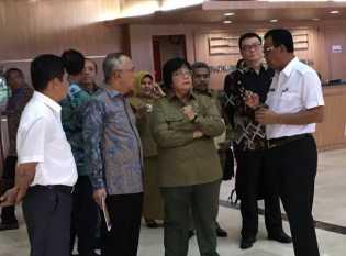 Bupati Rohil Hadiri Rakor Karhutla di Jakarta