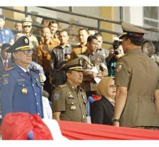 Mendagri Hadiri Perayaan HUT Damkar Ke-100, Satpol PP ke-49 dan Satlinmas ke-57 Sukses di Pekanbaru.