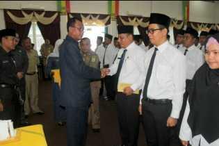 Tujuh Alumni STTD Rohil Terima SK CPNS