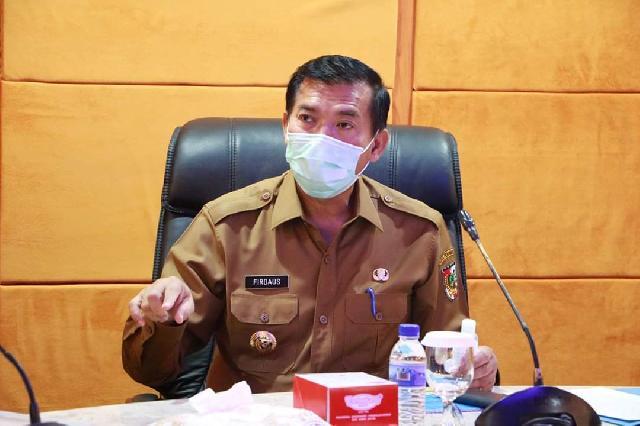 Dalam Melawan Covid-19, Pemko Pekanbaru Gelar VidCom dengan Pemprov Riau