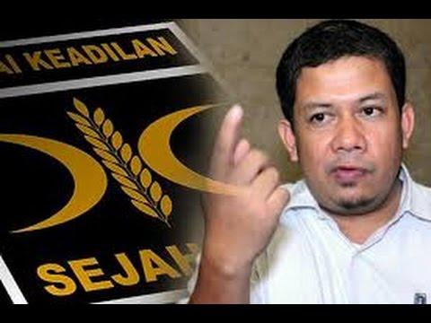 Pendiri PKS Sebut Banyak Kader PKS Berdosa Besar Dari Fahri Hamzah