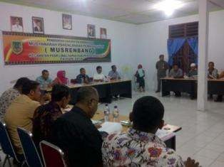 Plt Sekda Rohil Buka Secara Resmi Musrenbang Kecamatan Palika
