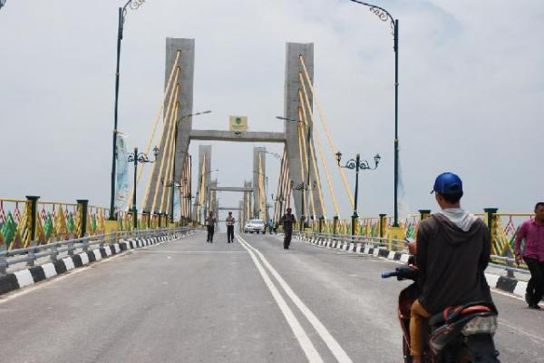 Kasus Korupsi Jembatan Pedamaran Rohil Segera di Tuntaskan