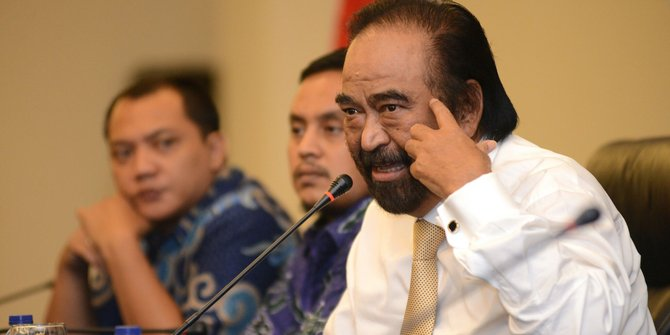 Kecurigaan Paloh ada musuh dalam selimut di pemerintahan Jokowi