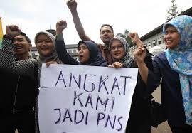 Kepres Disetujui Jokowi, Akhirnya Tenaga Honorer Diangkat Jadi Pegawai