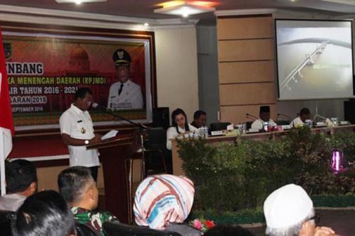DPRD dan Eksekutif Susun Program RPJMD