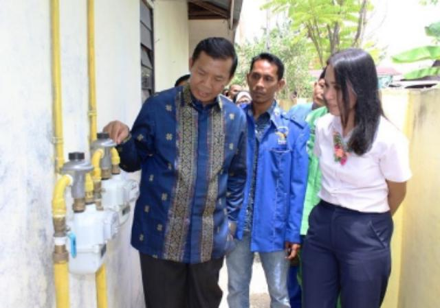 Program Gas Rumah Tangga Kota Pekanbaru Sukses Menyentuh Warga